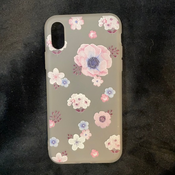 EUC FLORAL IPHONE X PHONE COVER